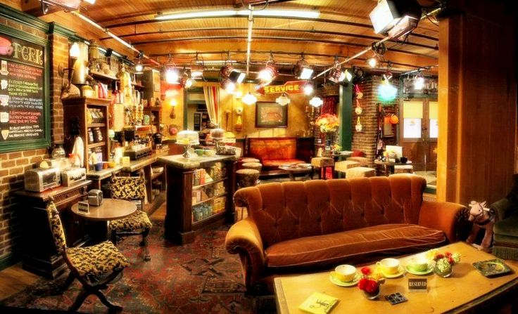 11 Best Images About Remake Of Central Perk On Pinterest
