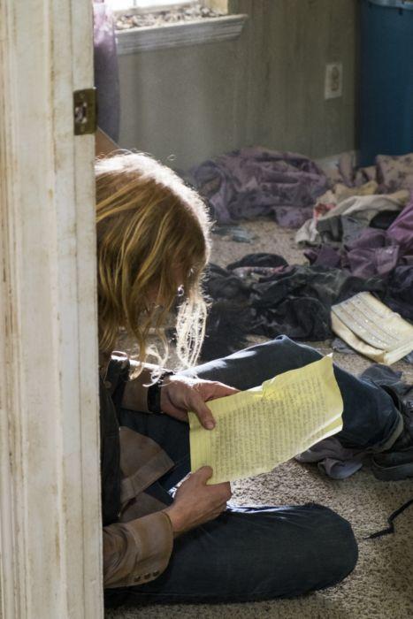 AMC's 'The Walking Dead,' Season 7, Episode 11, Dwight reads Sherry's letter