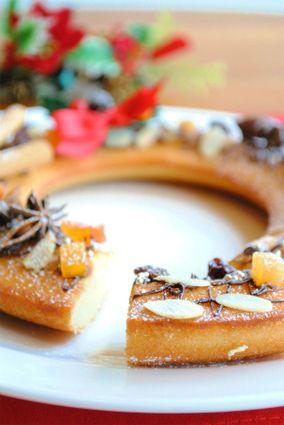 ホットケーキミックスで クリスマス リース フィナンシェ ☆|レシピブログ