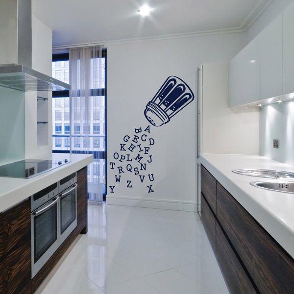 Las 25 mejores ideas sobre vinilos decorativos cocina en - Vinilo para cocina ...