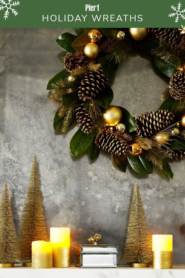 Handcrafted Holiday Wreaths From Pier Are Iconic Part Every Season They Christmas