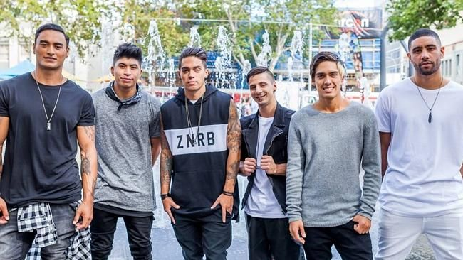 YouTube bound ... Justice Crew enlisted some star cameos for the video of new single I Lo