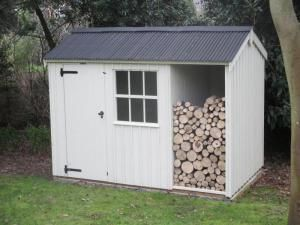 Blickling Shed with Log Store