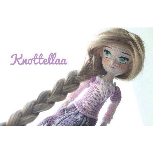 Rapunzel amigurumi