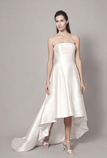 CHRISTOPHE-ALEXANDRE DOCQUIN ROBES DE MARIEE CREATEUR SUR MESURE A PARIS tenue de mariage courte et robe de mariée sur mesure créateur à Paris