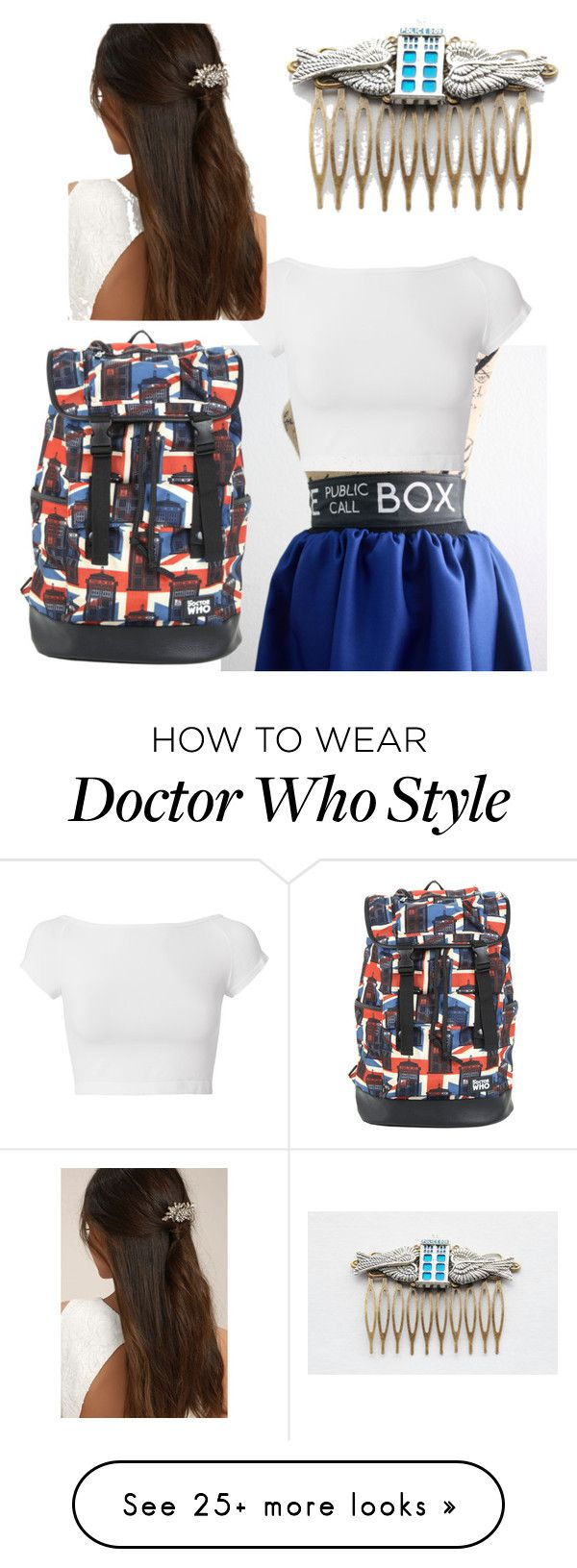 """Doctor who"" by julia-mott on Polyvore featuring Helmut Lang, Hot Topic and LULUS"