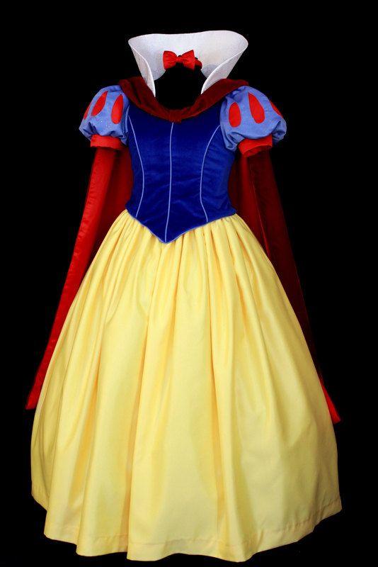 Adult Snow White Deluxe Costume Custom Made por NeverbugCreations, $800,00