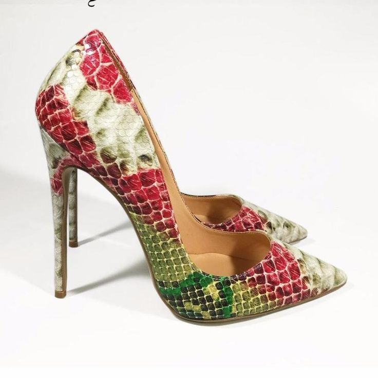 These Red Snake Are Stunning On You & Will Enhance Any Outfit. Get The Special Offer Available On Site http://celebrityshoes4u.com/products/dorisfanny-2017-spring-collection-high-heels-wedding-shoes-snake-printed-leather-red-women-pumps-free-shipping?utm_campaign=social_autopilot&utm_source=pin&utm_medium=pin