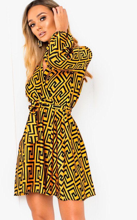 2bfbc466ef3f Cara Printed Wrap Dress | Clothes | Dresses, Wrap dress, Wraps