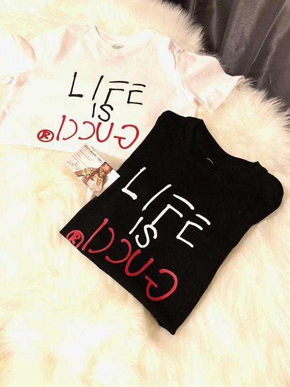 Life is Gucci inspired tshirt newborn toddler kids woman men urban wear  dope white black  UrbanWearWomenIdeas  a4bca5b71