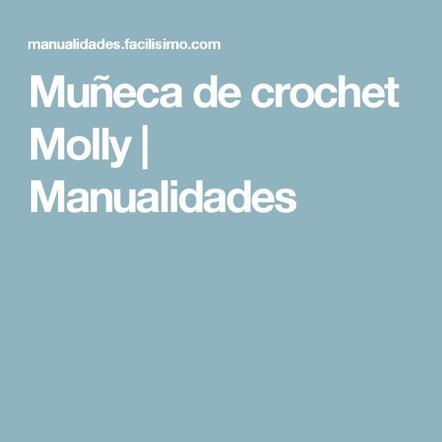 Muñeca de crochet Molly | Manualidades