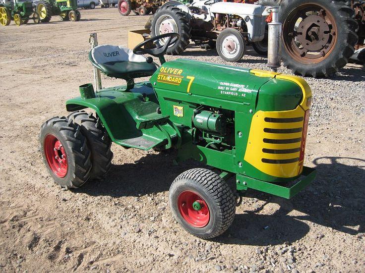 Baby Oliver Yard Tractorssmall