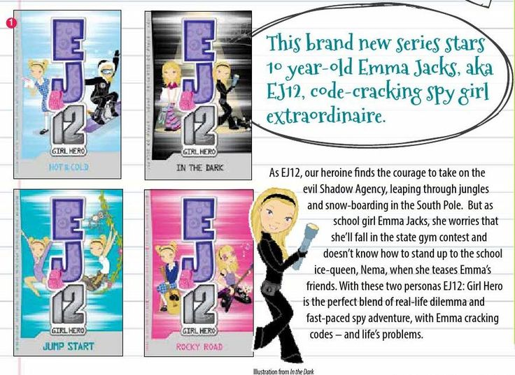 LOVE this new girl-hero, secret agent chapter book series!! It's about a 4th grade reading level. They can be ordered here from #Usborne Books & More.: https://d0036.myubam.com/search?q=ej12  #ubam #usborneusa #girlchapterbooks #4thgrade