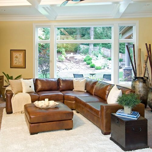 Beautiful Rustic Leather Sectional Sofa Carlyle Top Grain Leather Sectional In Rustic Sectional Sofas At