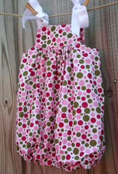 Quick and Easy Baby Rompers . turn a pillowcase dress into a romper/bubble!! .