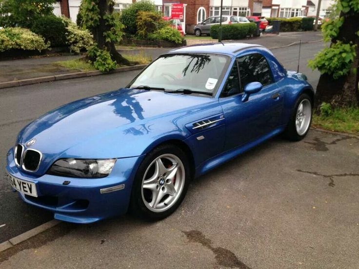 Bmw Z3 M Roadster Blue Biler Pinterest Biler