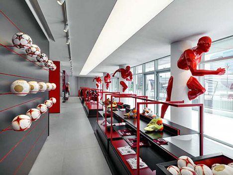 AC Milan headquarters by Fabio Novembre Interesting column decorations...
