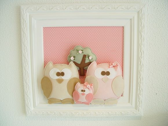 (MA 0140) Quadro maternida corujinhas | PIPEeGUCA decoração infantil,móveis,enxoval,lembrancinhas nascimento,aniversário,quadros,pipe e guca...