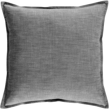 Kuddfodral Calypso, 50x50 cm, svart