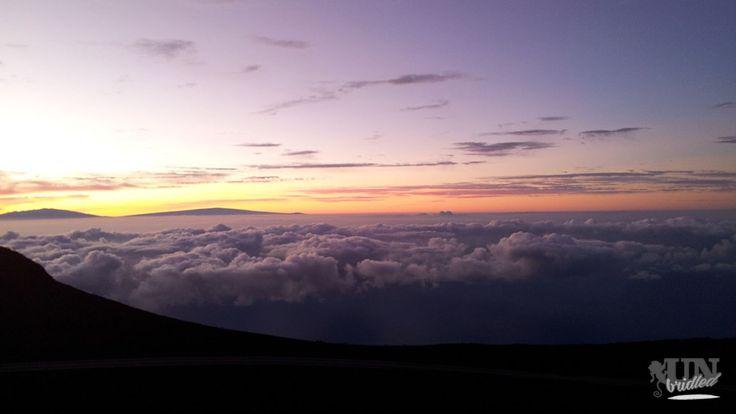 Somewhere over the cloudscape - Sonnenaufgang auf dem Haleakala
