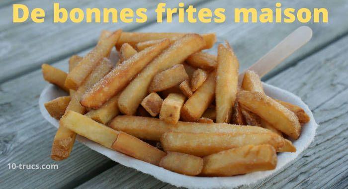 Comment faire des frites maison? Venez lire notre article sur comment faire les meilleures frites à la friteuse, au four et même au WOK!