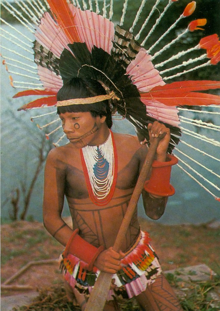 Indígena Karajá - Brasil