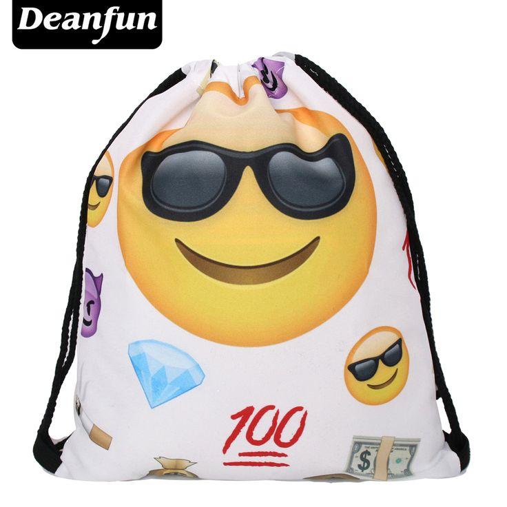 $2.99 (Buy here: https://alitems.com/g/1e8d114494ebda23ff8b16525dc3e8/?i=5&ulp=https%3A%2F%2Fwww.aliexpress.com%2Fitem%2FDeanfun-2016-new-fashion-backpack-3D-printing-travel-softback-man-women-harajuku-drawstring-bag-mens-backpacks%2F32749661106.html ) Deanfun 2016 new fashion backpack 3D printing travel softback man women harajuku drawstring bag mens backpacks EmojiI Thug S55 for just $2.99