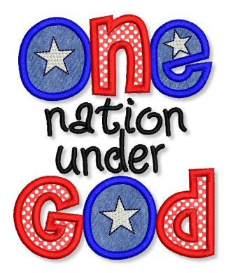 a discussion on america a nation under god One nation under god: how corporate america invented christian america   which turns the discussions of judicial deliberations and arcane.