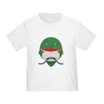 Cartoon Hummingbird Toddler T-Shirt from cafepress store: AG Painted Brush T-Shirts. #bird #hummingbird #toddler