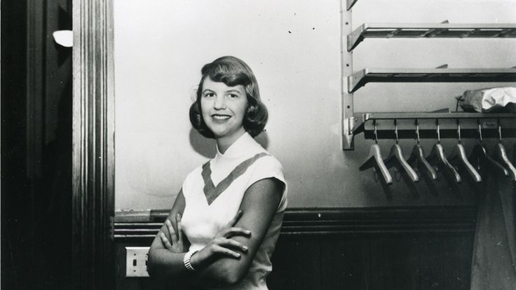 Tribute to a literary goddess Sylvia Plath.