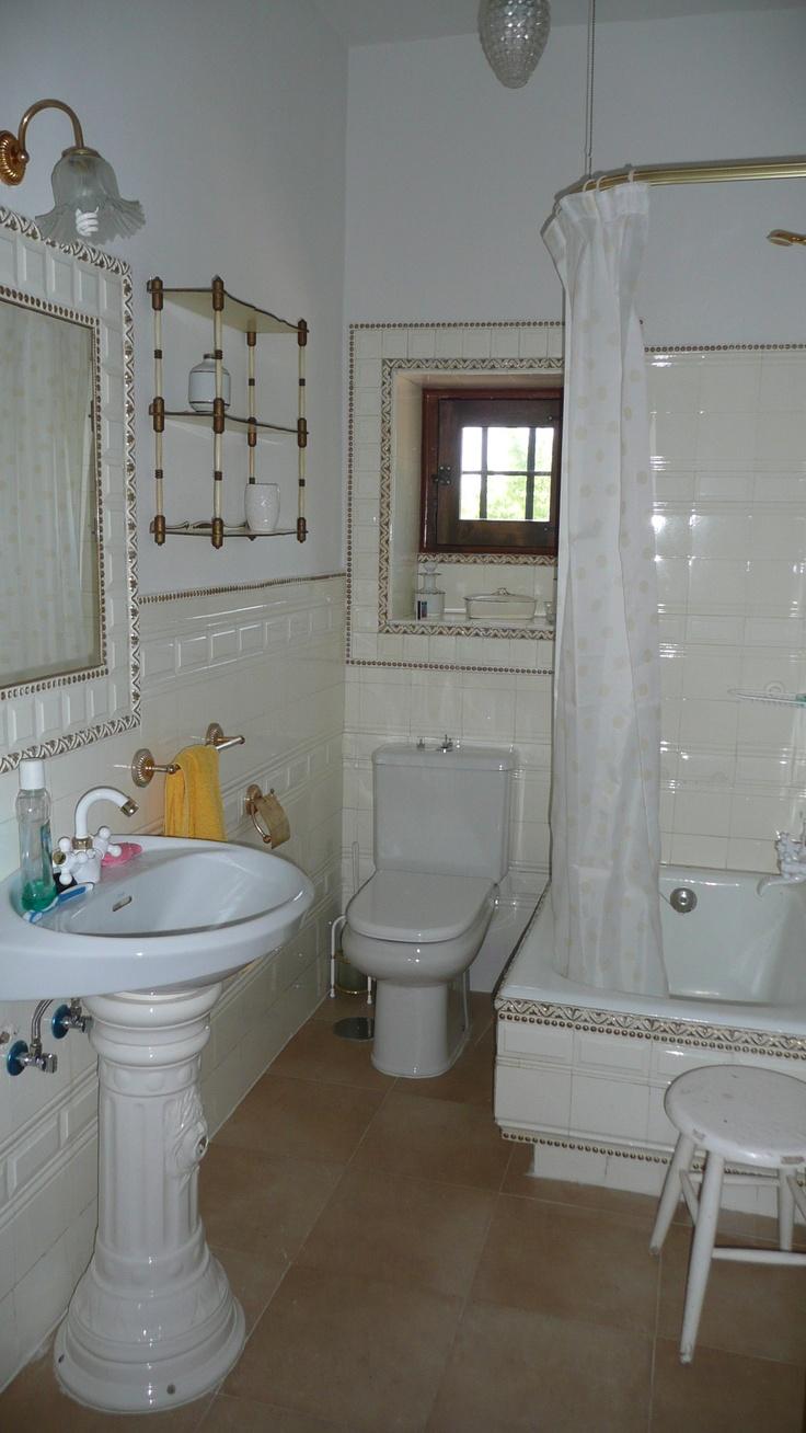 Baño blanco.