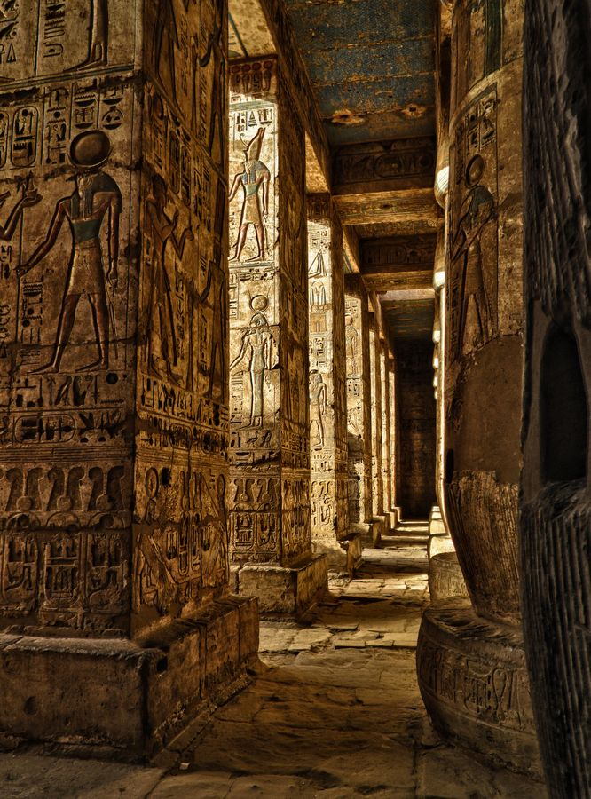 Luxor, Egypt ... ever since I can remember, I've loved Egypt + the culture ... 7th grade I did a huge research project on their architecture and hieroglyphics ... so intriguing to this day for me