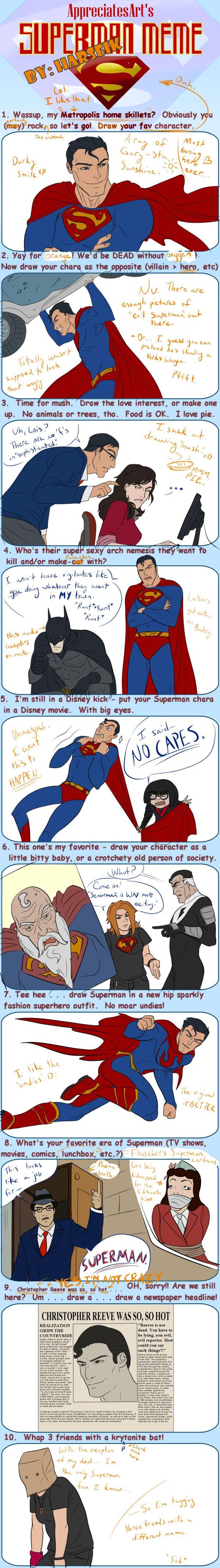 Superman Meme by Harseik by Harseik