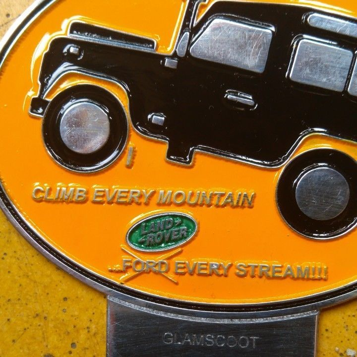 Land Rover Series 1 2 A CLUB BADGE VINTAGE CLASSIC PARTS FOR SALE FUNNY 2a one  #LandRover