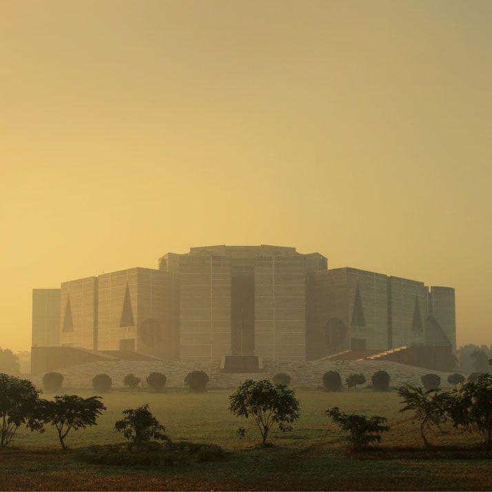 National Assembly Building In Dhaka Bangladesh Louis Kahn 1962 83