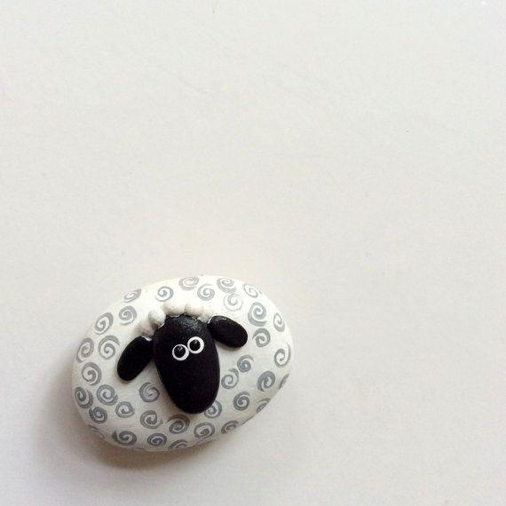 Symbol of 2015 year Sheep Lamb magnet Sheep Lamb by ArzuMusa