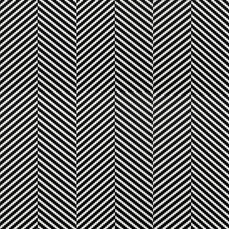 Monochrome Collection, Warwick Fabrics : ZEPPELIN / Black and White