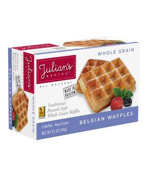 Julian S Belgian Waffles Whole Foods
