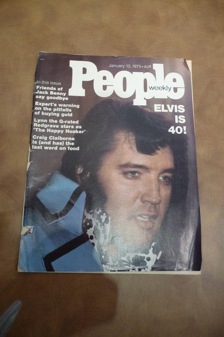 Elvis presley then amp now 25th anniversary collector s edition ebay - Elvis People Magazine