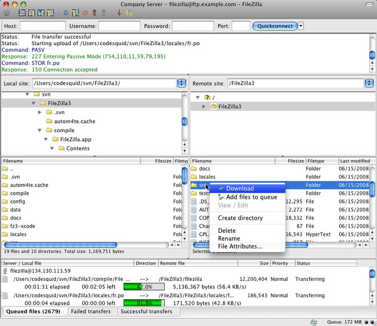 FileZilla for Mac OS X 3103 FileZilla Client is a fast and - best of blueprint software free mac