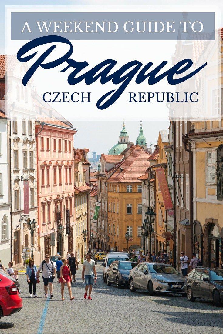 Prague Weekend Guide Pin