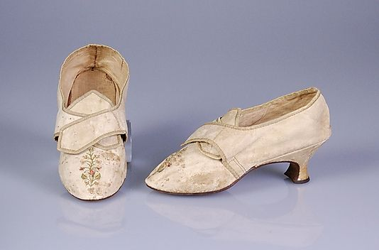 Third quarter 18th century, France - Leather shoes