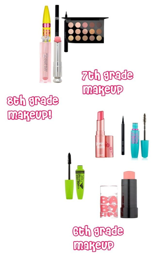 """""""Middle school makeup (update)"""" by happygirlavenue ❤ liked on Polyvore featuring beauty, Rimmel, Maybelline, Bobbi Brown Cosmetics, Benefit, Sisley, MAC Cosmetics and Christian Dior"""