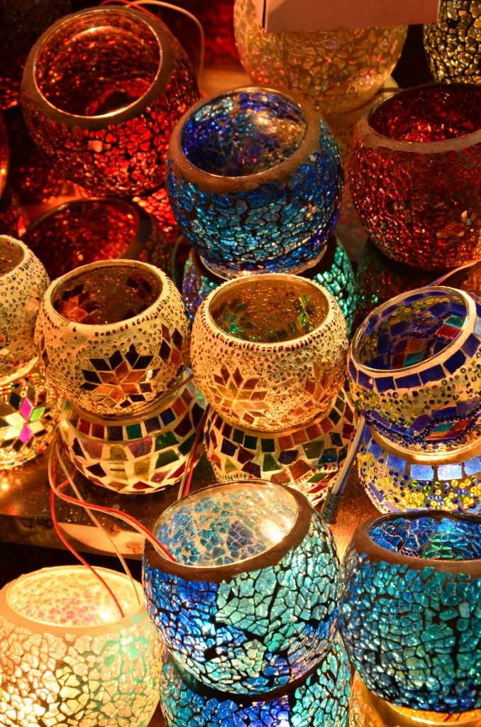 Jewel Toned Mosaic Votives Istanbul Buzz Pinterest