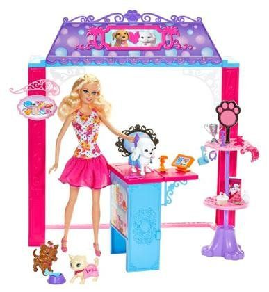 Barbie Life in the Dreamhouse Pet Boutique and Doll Playset $38.29