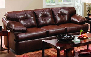 How to Clean a Leather Sofa   Overstock.com