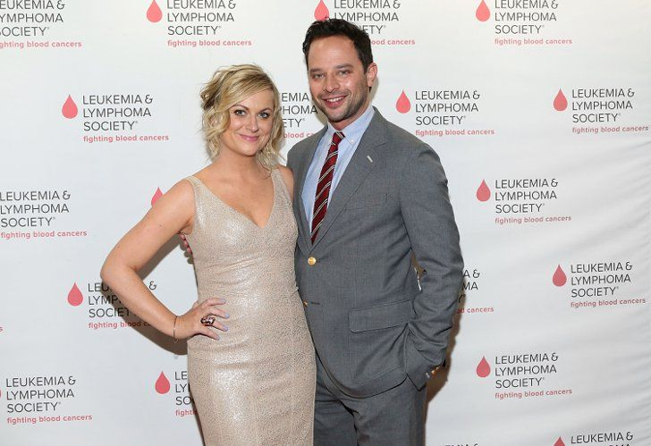 Pin for Later: Comedy Power Couples: 15 Pairs Whose Love Is Hilariously Sweet Amy Poehler and Nick Kroll The former SNL star has been dating the Kroll Show creator since 2013, and he guested on her signature series, Parks and Recreation, a few times.
