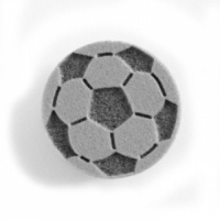 Snazaroo Face Paint Stamps - Soccer Ball at Facepaint.com. The Snazaroo Soccer Ball Face Paint Stamp is perfect for creating simple cheek art designs or hand stamps. All you have do is load the face paint on to the face paint stamp and apply to the skin. Simple. Snazaroo EVA Face Paint Stamps are made of durable foam for easy cleaning and multiple reuse. These face paint stamps are 1 in to 1.5 in at the widest (or tallest) point, the ideal size for small cheeks.
