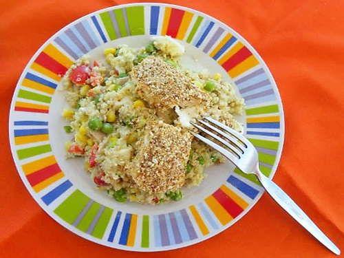 Πολύχρωμη Σαλάτα με Κινόα και Ψητή Φέτα, της Ήβης Λιακοπούλου / Colourful Quinoa Salad, with Baked Feta, by Ivy Liacopoulou. http://www.kopiaste.info/?p=12711