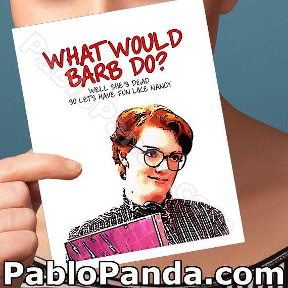 Funny Birthday Card  Barbara Holland  Gift For Dad by PabloPanda